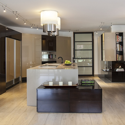 Open Kitchen Elegance